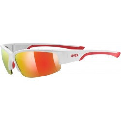 Uvex sportstyle 215 white mat red s3